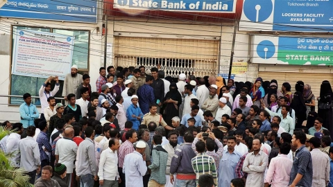 December 11: Demonetisation effect at banks and ATMs across India