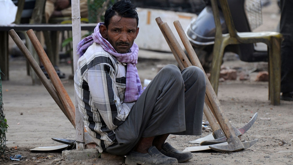 Over 10,000 daily wagers affected by demonetisation began moving out of Gurugram, Haryana and back to their villages in mid-December 2016