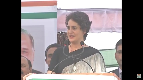 Priyanka Gandhi—UP need not adopt outsider; has its own sons