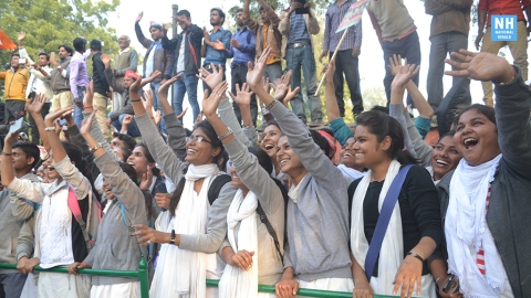 Support for all parties among Lucknow U students; edge to Akhilesh
