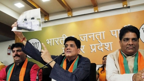 Power Minister Piyush Goyal now speaks of 'Muslim Electricity'