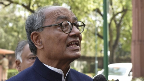 Chidambaram victim of 'Gujarat Model of Governance', says Digvijaya Singh