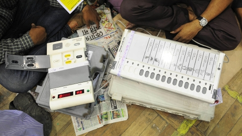 Before Mayawati's red flag on EVMs, warning came from Maharashtra