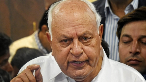 Amit Shah is lying, am under house arrest, says Farooq Abdullah
