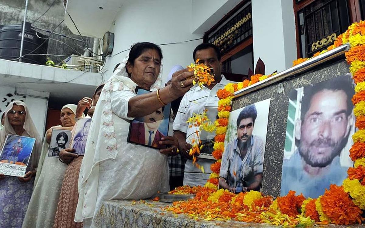 Alleged Indian 'spy' Sarabjit Singh too was on death row