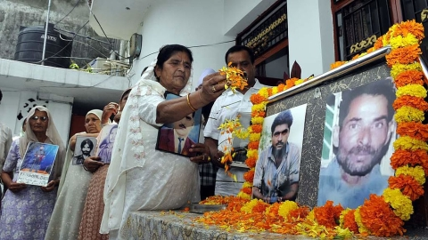 Alleged Indian 'spy' Sarabjit Singh too was on death row