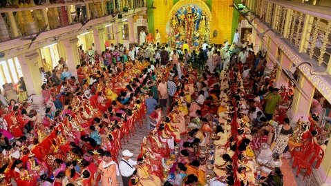 Armed Ram Navami processions spook West Bengal