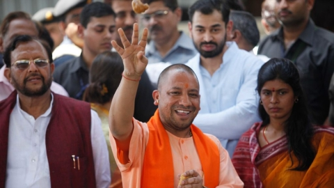 Yogi dared to take action against BJP leaders