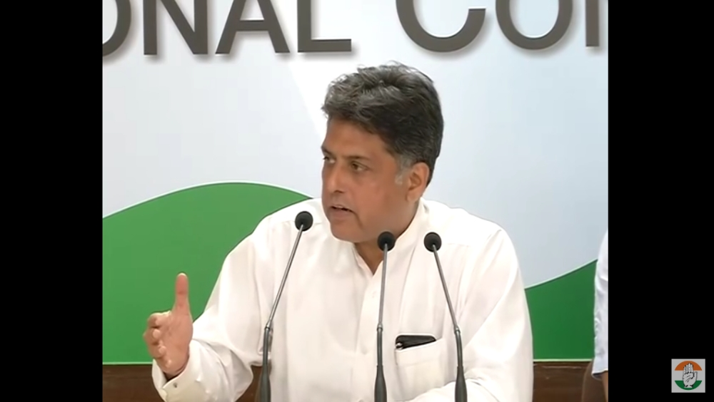 Congress Spokesperson Manish Tewari at a press conference on Monday said the BJP-led NDA Government seemed to be formalising the subversion of the RTI legislation