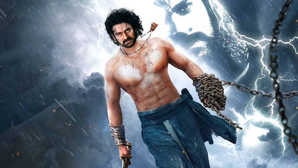 A file photo of actor Prabhas as appearing on the poster of recently-released movie, <i>Baahubali 2: The Conclusion</i>