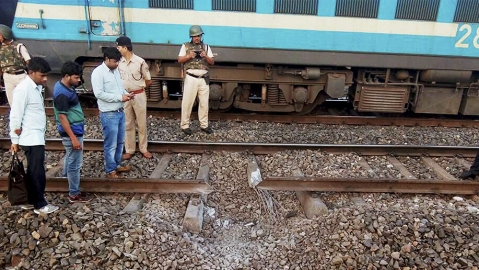 Maoists begin day-long bandh, blow up railway track in Jharkhand