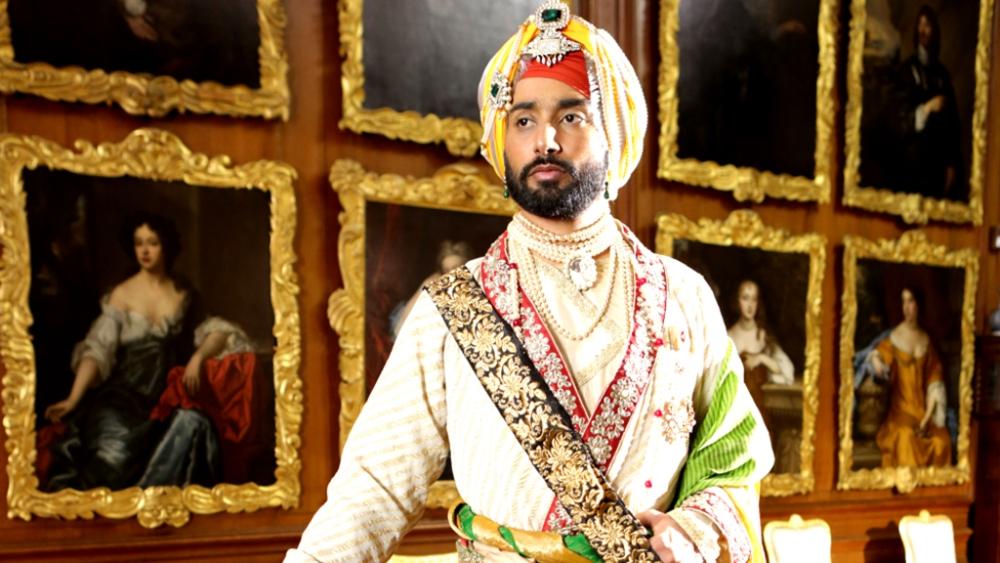 Debutant Satinder Sartaaj is playing the protagonist Maharajah Duleep Singh. Sartaaj is already a well-known Sufi singer and poet