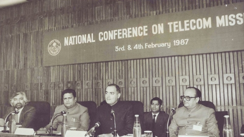 Rajiv would've been proud of our accomplishments in telecom sector