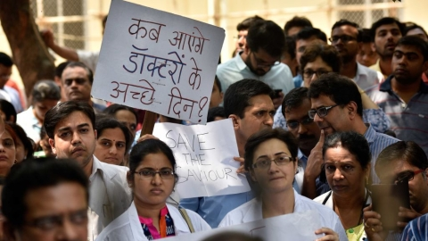 India is no country for doctors