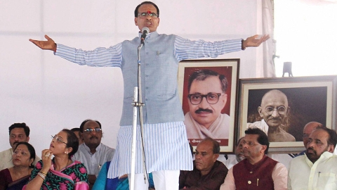 Chouhan mocked for his 'fast for farmers'