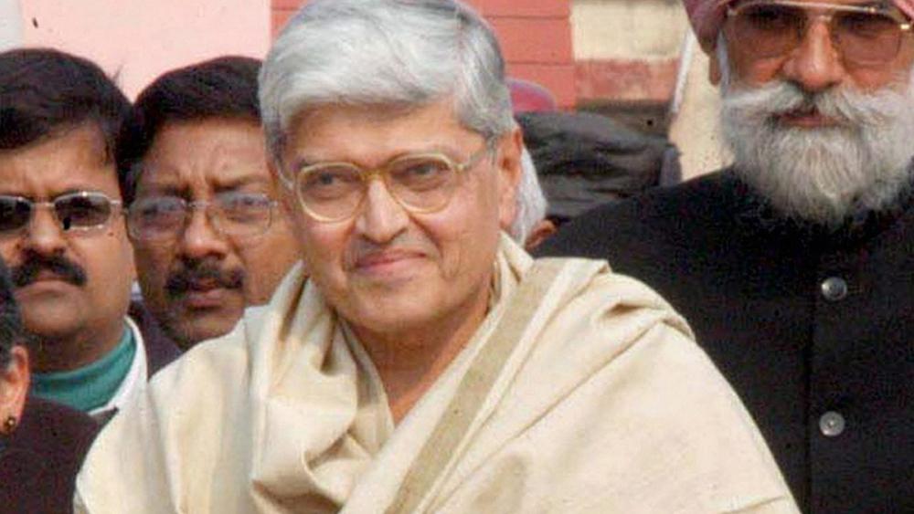 Opposition's Vice-Presidential candidate Gopalkrishna Gandhi