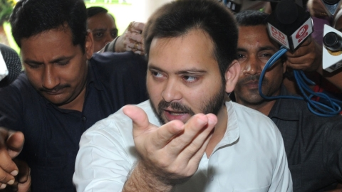 CBI's FIR has nothing against Tejaswi Yadav