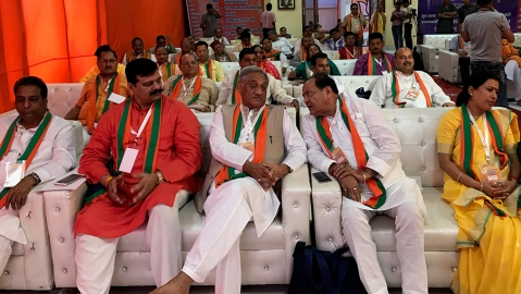 BJP holds classes for MLAs and defectors from Congress on RSS ideology