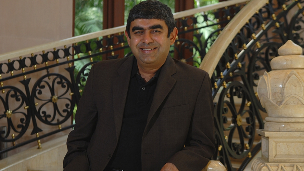 A file photo of Vishal Sikka