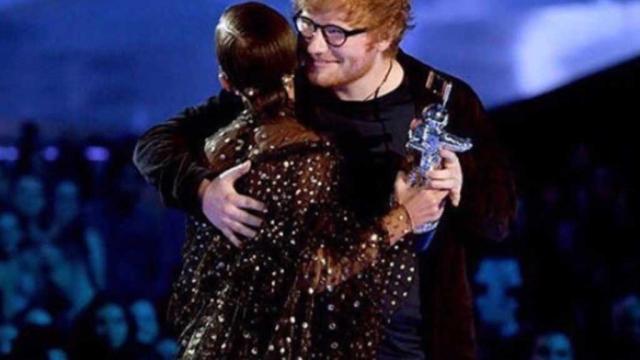 Ed Sheeran at the award show