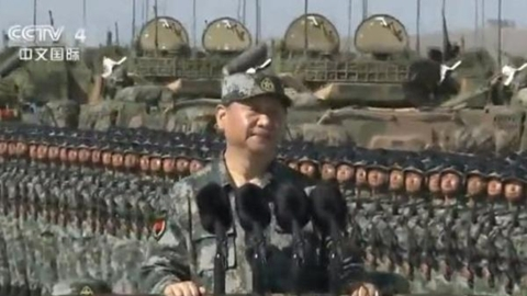 China's military parade from where Genghis Khan launched campaign sends out several signals