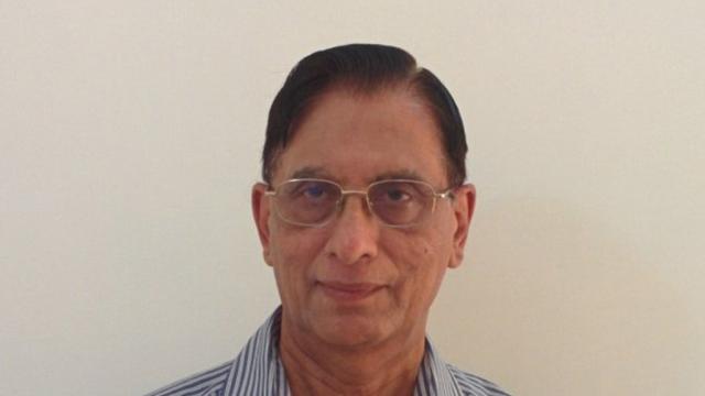 A file photo of India's new envoy to Cyprus, RK Raghavan