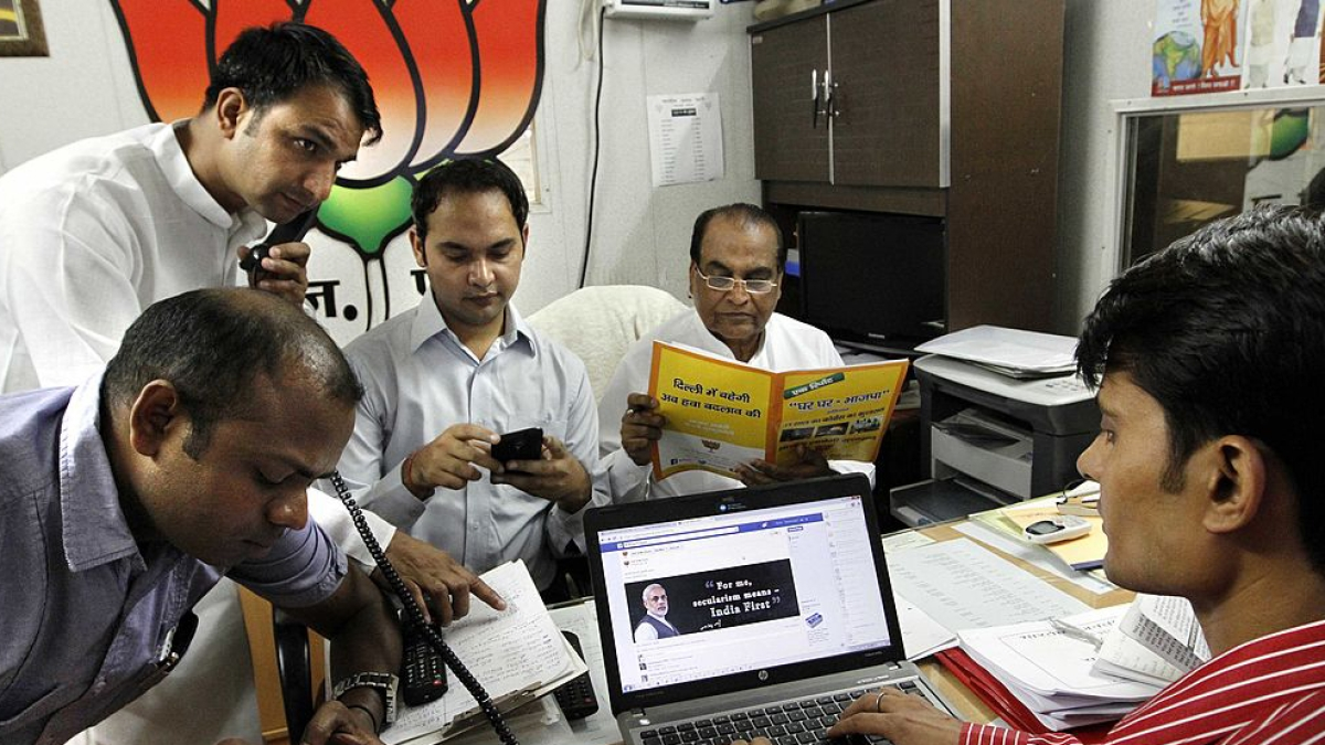 BJP's cyber army fakes twice in 24 hours, busted as usual