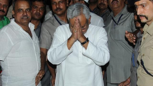File photo of Bihar CM Nitish Kumar