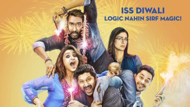 Poster of the film Golmaal Again