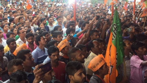 BJP-Trinamool turf war turns communal in Bengal's Nakasipara