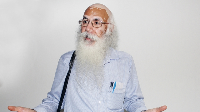 Professor (retired) Arun Kumar during an interview with National Herald on Thursday
