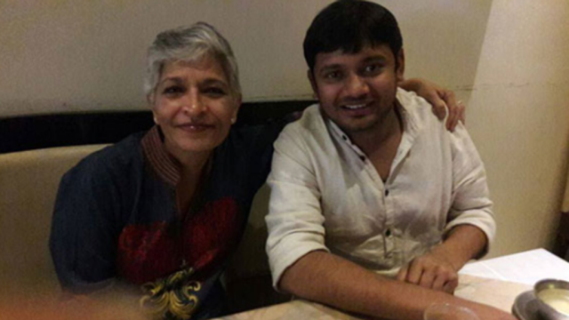Gauri with her Manas Putra Kanhaiya