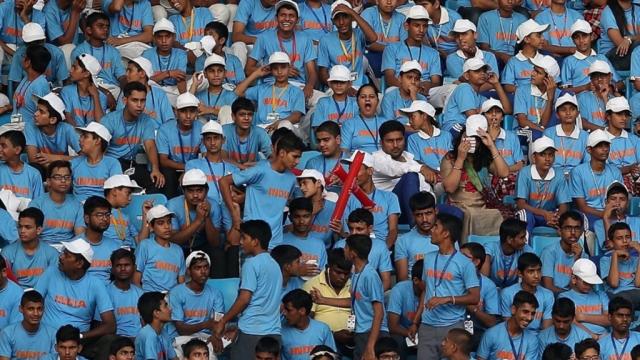 File photo of Kids at the Jawahar Lal Nehru Stadium