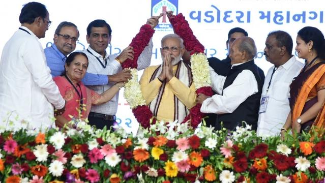 Prime Minister Modi in Vadodara