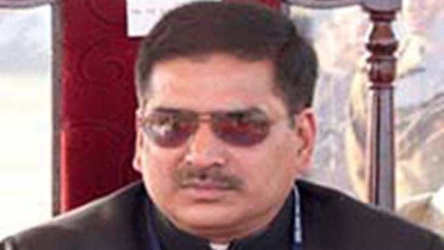File photo of Mayankeshwar Sharan Singh, Raja of Tiloi who may quit BJP