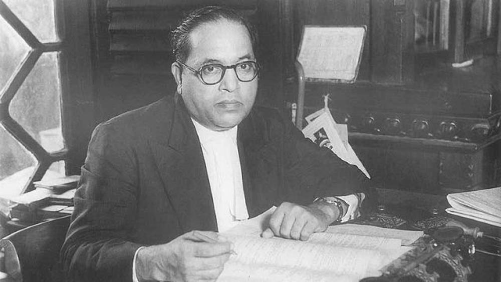 A file photo of BR Ambedkar