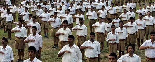 File photo of an RSS Shakha