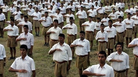 Deep inside the saffron lair in Bengal: Shadowy groups like Hindu Samhati lend muscle to RSS