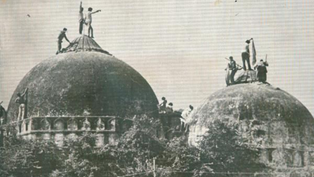 The controversial site for Ram temple in Ayodhya