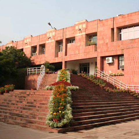 JNU campus (Photo courtesy: JNU website)