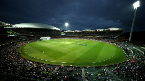 Adelaide Oval hosts the first ever day-night Ashes test