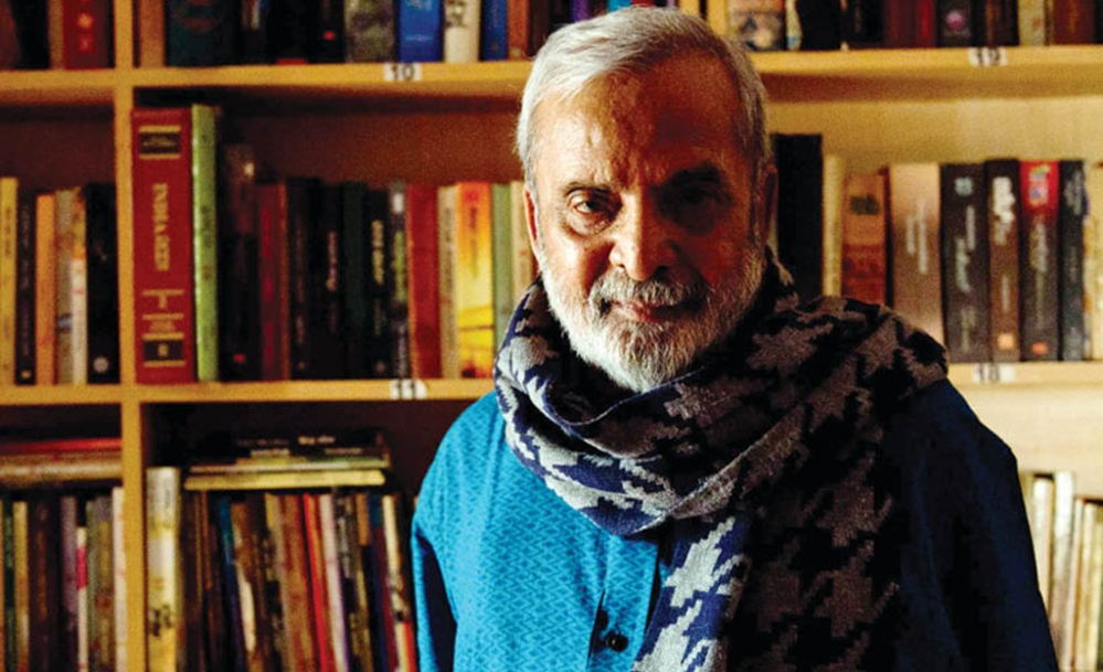 A file photo of the author late UR Ananthamurthy