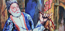 Ghalib was a prominent Urdu and Persian-language poet during the last years of the Mughal Empire