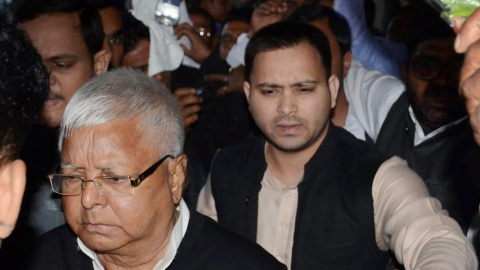 It seems curtains for Lalu