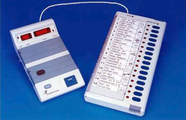 File photo of Electronic Voting Machine (EVM)