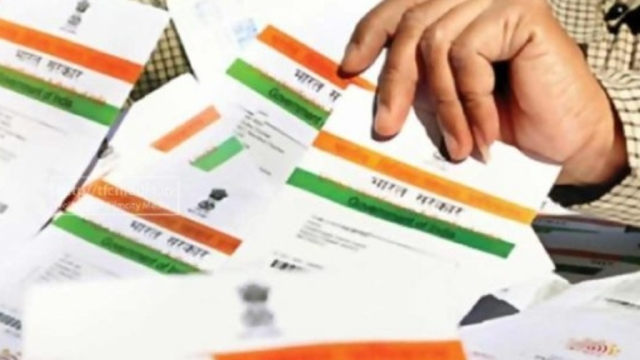 Aadhar cards