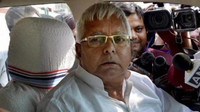 RJD supremo Lalu Prasad Yadav (file photo)