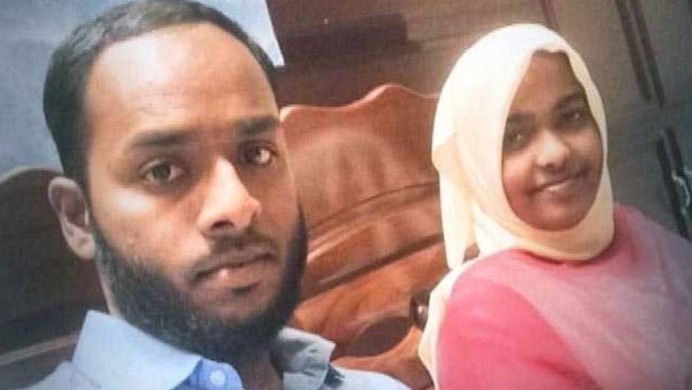 Shafin Jahan along with Hadiya before their marriage was annulled by the Kerala High Court last year.