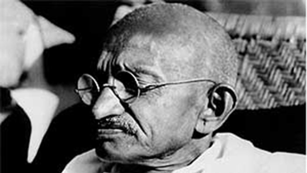 Mahatma Gandhi (file photo)