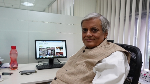 Neelabh Mishra, Editor-in-chief of National Herald and Navjivan passes away